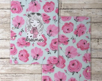 Dreamer Floral Mini Happy Planner Cover
