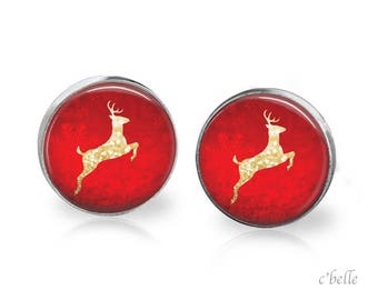 Christmas Earrings Winter-1