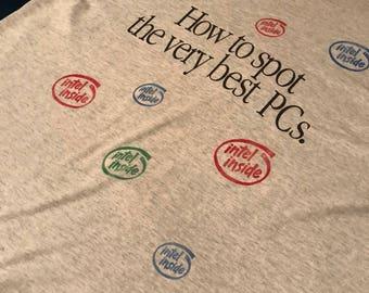 Vintage Intel shirt