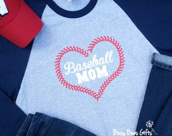 Baseball Mom Raglan Shirt. Baseball Mom Shirt. Baseball Mom. Baseball Heart. Baseball Laces. Baseball Mom Heart. Baseball Raglan Shirt