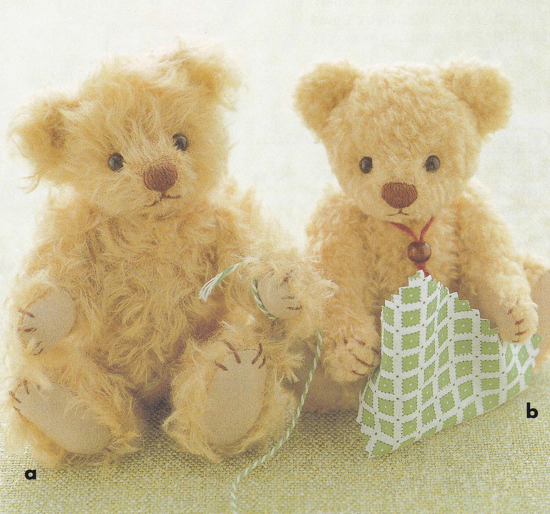 Cute teddy bear plush stuffed doll toy mascot step by step zoom jeuxipadfo Images