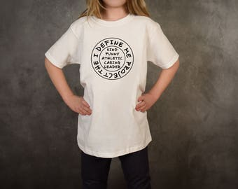 Custom Kids Self-Love Shirt, Positivity Shirts, Empowerment, Self-Esteem Shirt, Positive Mindset, Self-Confidence, Self-Worth, Self-Love
