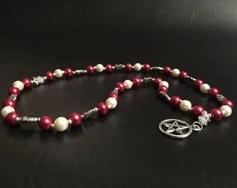 Pagan Prayer Beads - Athena/Minerva Prayer Beads