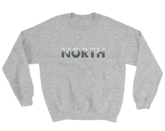 North Sweater - Sweater - Longsleeve Sweater - Crewneck Sweatshirt