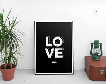 LOVE | Art Prints