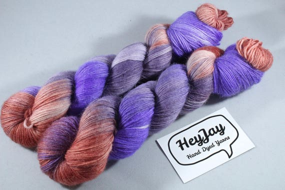 Hand Dyed Alpaca/Merino/Nylon Sock Yarn - Harvest Pie
