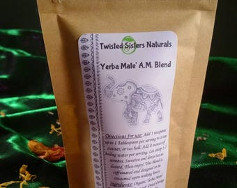 Yerba Mate' AM Blend Loose Leaf Tea
