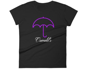 Oswald's Gotham Ladies T-shirt from Penguin's Bar