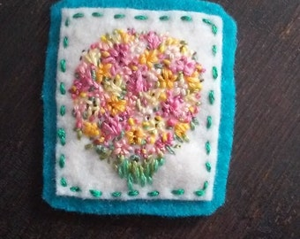 Spring Lily Bouquet (Patch, Pin, Brooch, or Magnet)