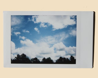 Clouds - Instant Film Fine Art Photo