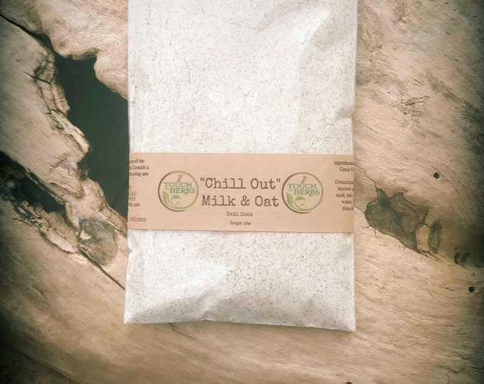 Relaxing Bath Gifts - Milk bath - Oatmeal soap bath - Chill Out Bath- Small gifts for sister - Bath and Body - Organic skincare - Natural