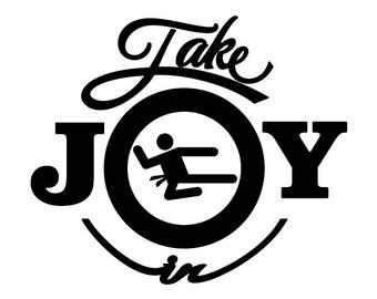 Take Joy In Karate Decal