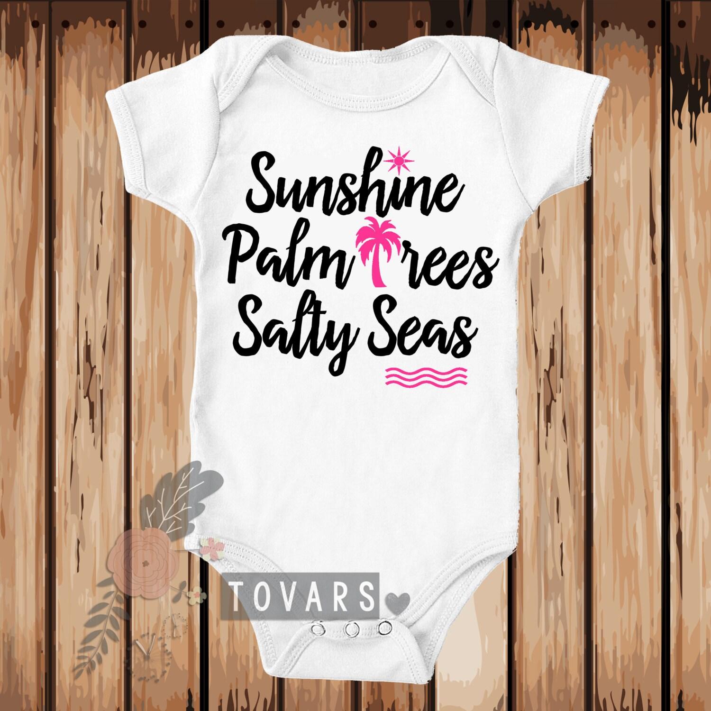 baby beach shirt ocean shirt Beach shirt Sunshine shirt