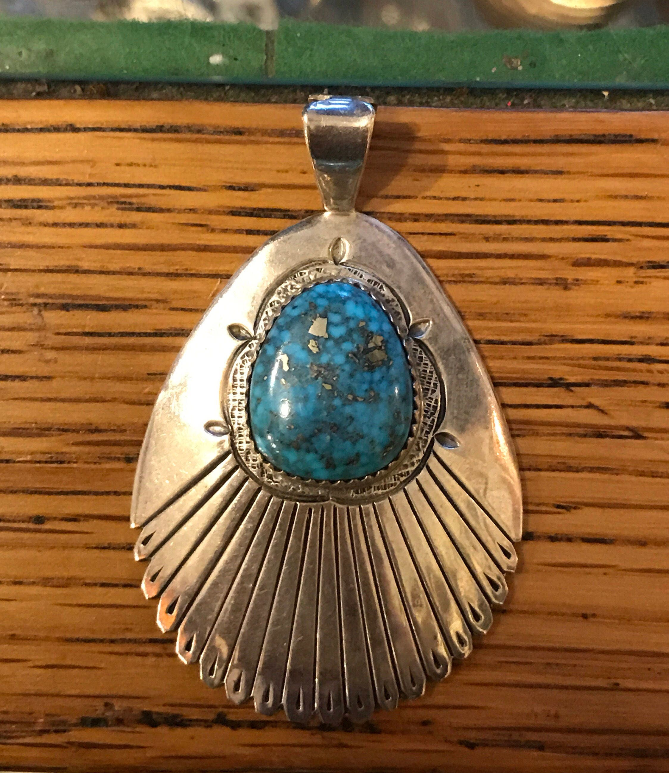 listing anna pendant sterling cross navajo oyster fullxfull gallery il spiny gccy vintage photo jewelry silver begay