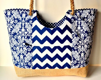 Custom Large Tote...You pick the fabric!