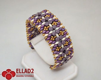 Tutorial Pelleta Bracelet - Instant download, Beading tutorial, Jewelry tutorial