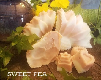 Sweet Pea Soap/ Scented Soap/ Handmade Soap
