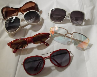 Lot 6 pairs of vintage glasses