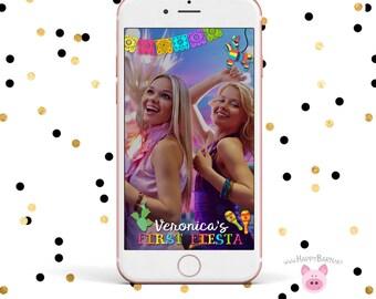 Snapchat GeoFilter, Bachelorette Party Geofilter, Fiesta Snapchat Filter, Cactus, Pinata Snapchat, Fiesta Geofilter, Birthday Party Snapchat