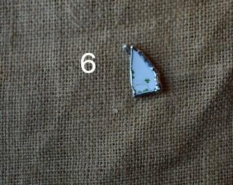 Shamrock Broken China Necklace Set #2