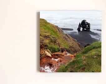 Monster Rock, Photo on 19x19 cm MDF (Medium-density fibreboard), Wall Art, Home Decor, Limited Edition Photography Prints