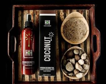 Health+ Harmony Virgin Coconut Oil Hair ans Scalp Spray