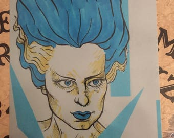 The Bride of Frankenstein (A new version of a classic)