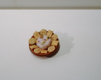 Mini dollhouse chips and dip