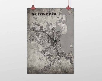 Schwerin - A4 / A3 - print - OldSchool