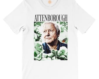 David Attenborough 'King of Nature' T-Shirt
