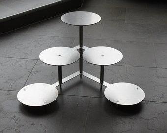 Cake / cake stand - aluminium - made in Germany - wedding - buffet - wedding cake - wedding cake - Etagere -.