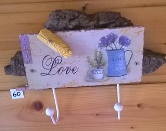 Driftwood tea Towel holder