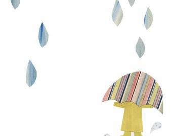 The Rain That Falls Down Print