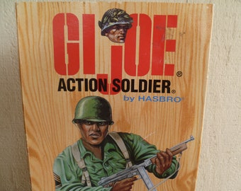 G I Joe Action Soldier  by  Hasbro New in Box     1995  World War II Commemorative Figure African American, Black