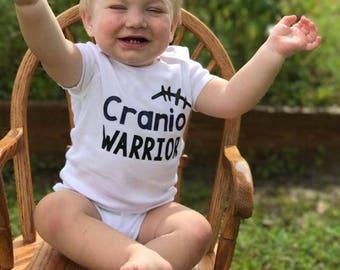 ALL PROFITS DONATED - cranio warrior - craniosynostosis shirt - cranio shirt- cranio warrior shirt - cranio body suit - cranio awareness