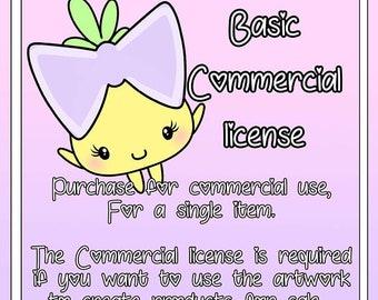 Basic Commercial License for hernameisSavvy Clip Art (Single Listing)