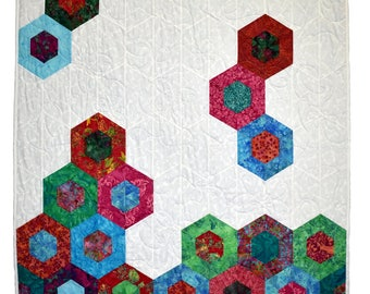 Dragonfly Hexagon Wall Hanging