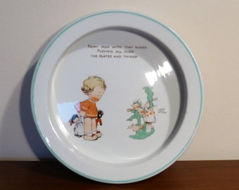 Mabel Lucie Attwell designed child's bowl by Shelley – original from the 1930s