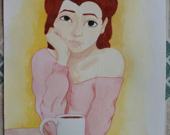 Coffee Time - Original Piece