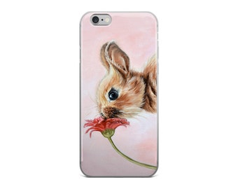 Bunny phone case, rabbit phone case, bunny iphone case, bunny samsung case, animal phone case, bunny mobile case, rabbit mobile case, rabbit