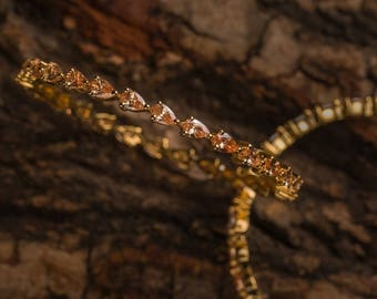 Champagne Bangles | Indian jewelry | Temple kundan gold jewelry | Bangles