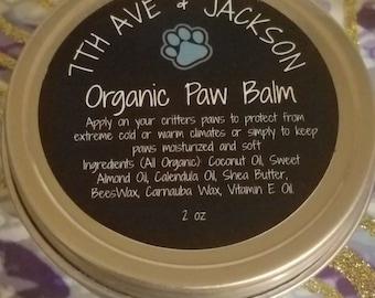 7th Ave & Jackson Organic Paw Balm