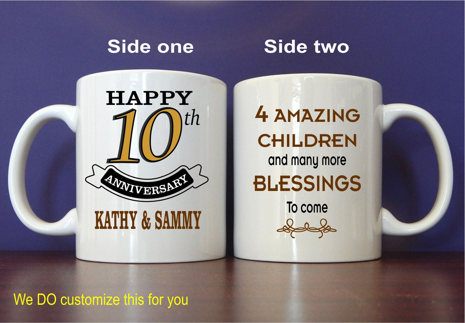 10th Anniversary Gifts Tin Anniversary Gifts For Couple
