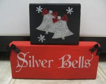 Christmas Decorations-Christmas Decor-Christmas Blocks-Christmas Shelf Sitters