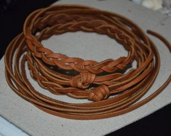Belt, Brown Genuine Leather Braided Belt, Genuine Leather Belt, Braided Leather Belt, Boho Braided Leather Belt, Tan Leather Belt, Boho Belt