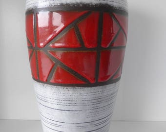 Scheurich vase West Germany 1970 with formnumber 517-38.