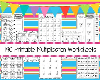 Multiplikation spielzeug | Etsy