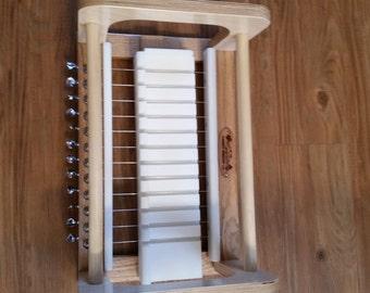 """Handmade Wooden multi Wire Soap Cutter HDPE- Oak & Baltic Birch-Cuts 3/4"""", 1"""", 1  1/4"""",  OR 1  1/8""""/soap cutters/soap slicer/wire cutter"""