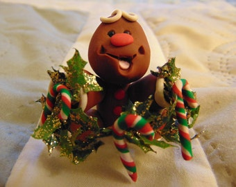 Christmas Gingerbread man figurine