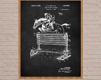 Horse Riding Decor, horse art print, gift for horse lover, horse dressage, horse training, horse rider gift, horse riders, horse vintage